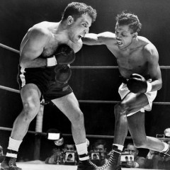 Photo of the Day: Sugar Ray Robinson vs. Jake LaMotta
