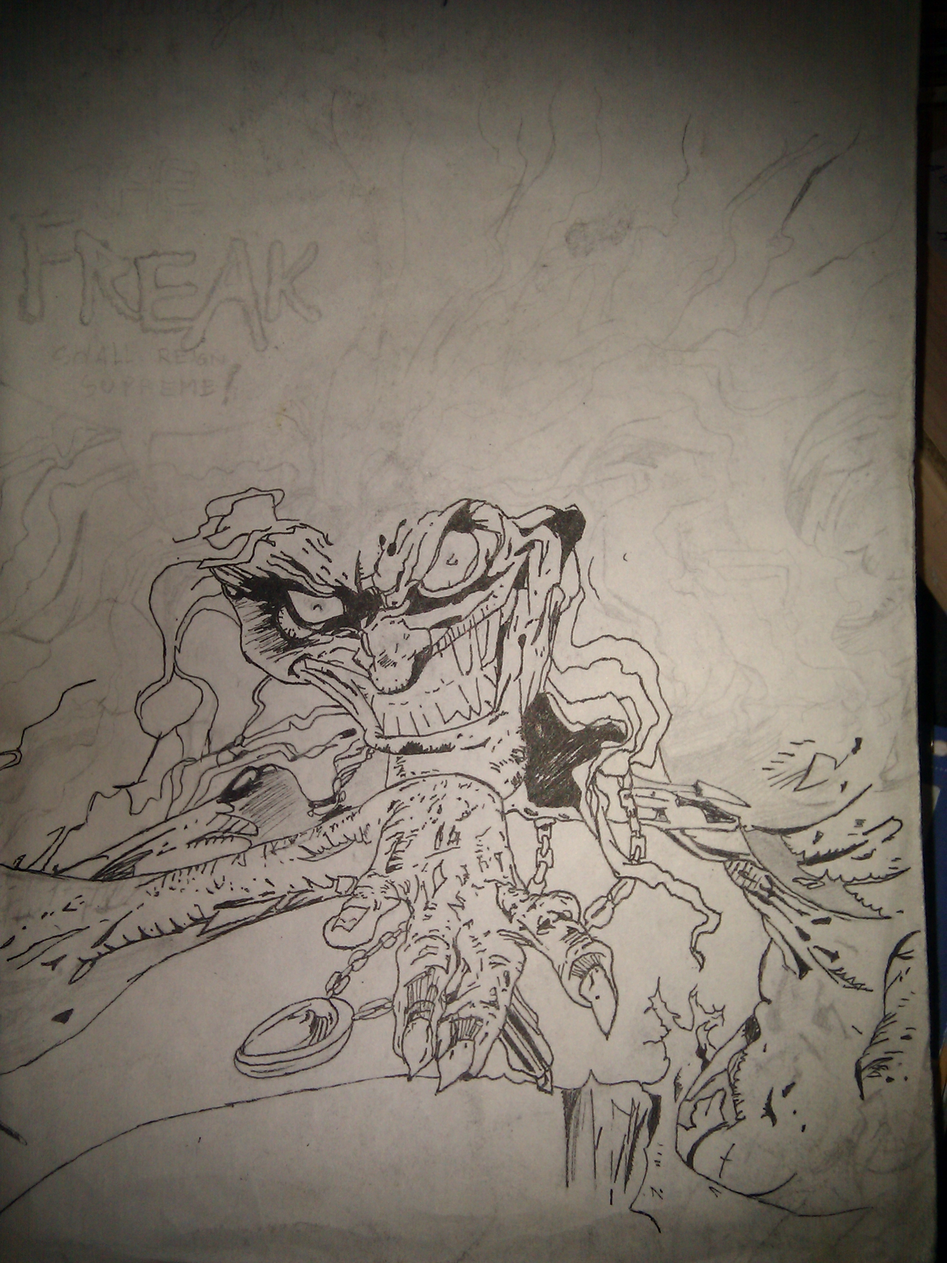 "The Freak, from ""Spawn."""